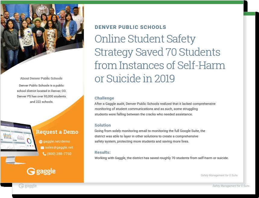 Denver Public Schools Case Study