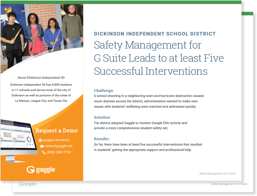 Dickinson Independent School District Case Study