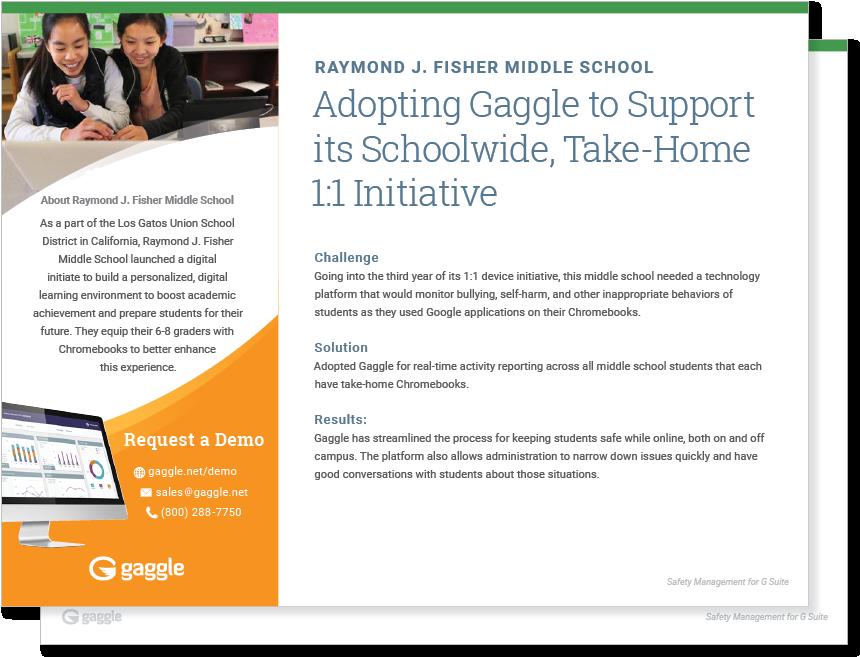 Raymond J. Fisher Middle School Case Study