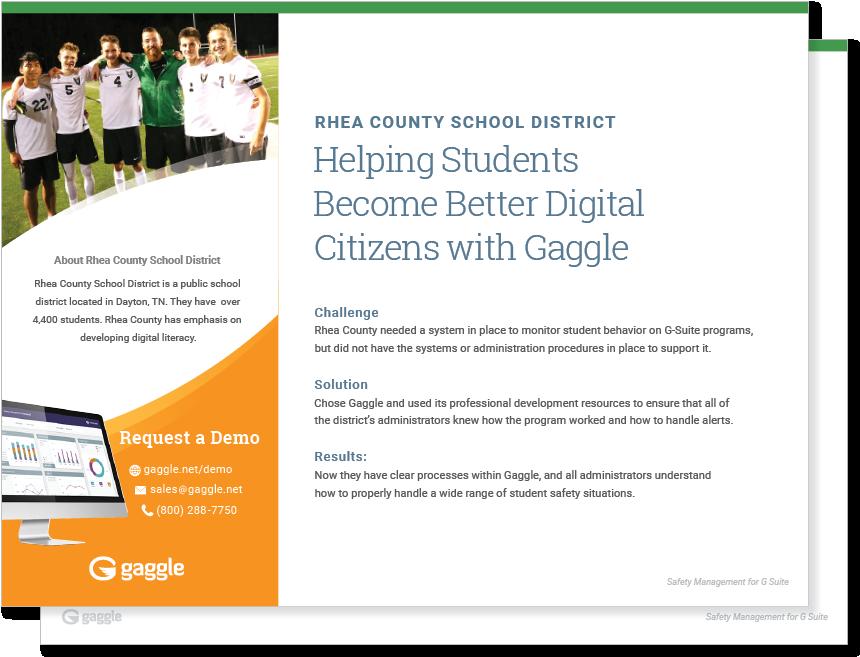 Rhea County School District Case Study