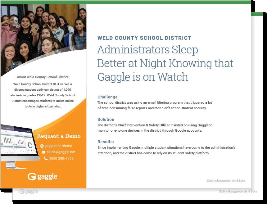 Weld County School District Case Study