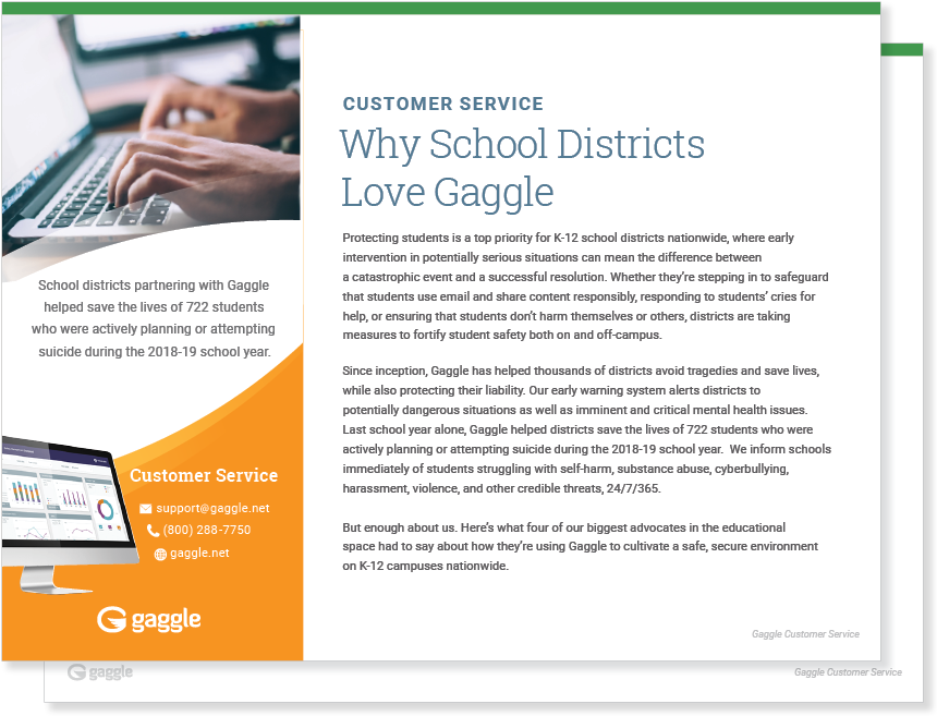 Why School Districts Love Gaggle Case Study