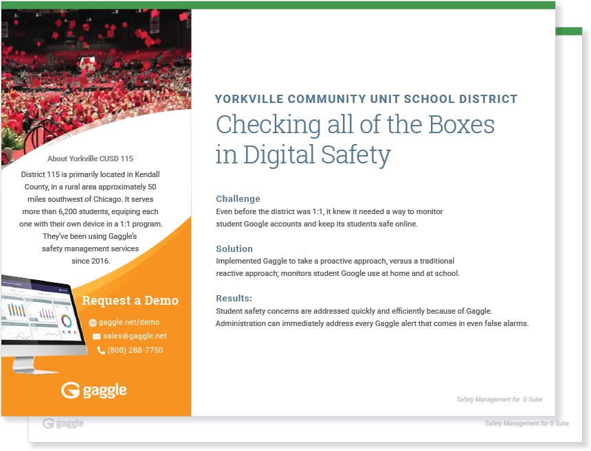 Yorkville Community Unit School District Case Study
